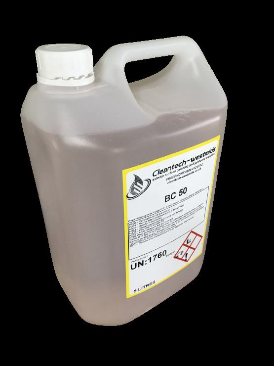 Bac 50 Biocide 5 Litres Cleantech Westmids