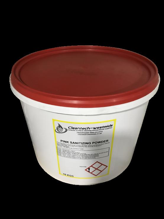 pinksanitizingpowder