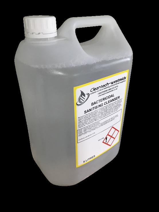 bactericidal & sanitising cleaer