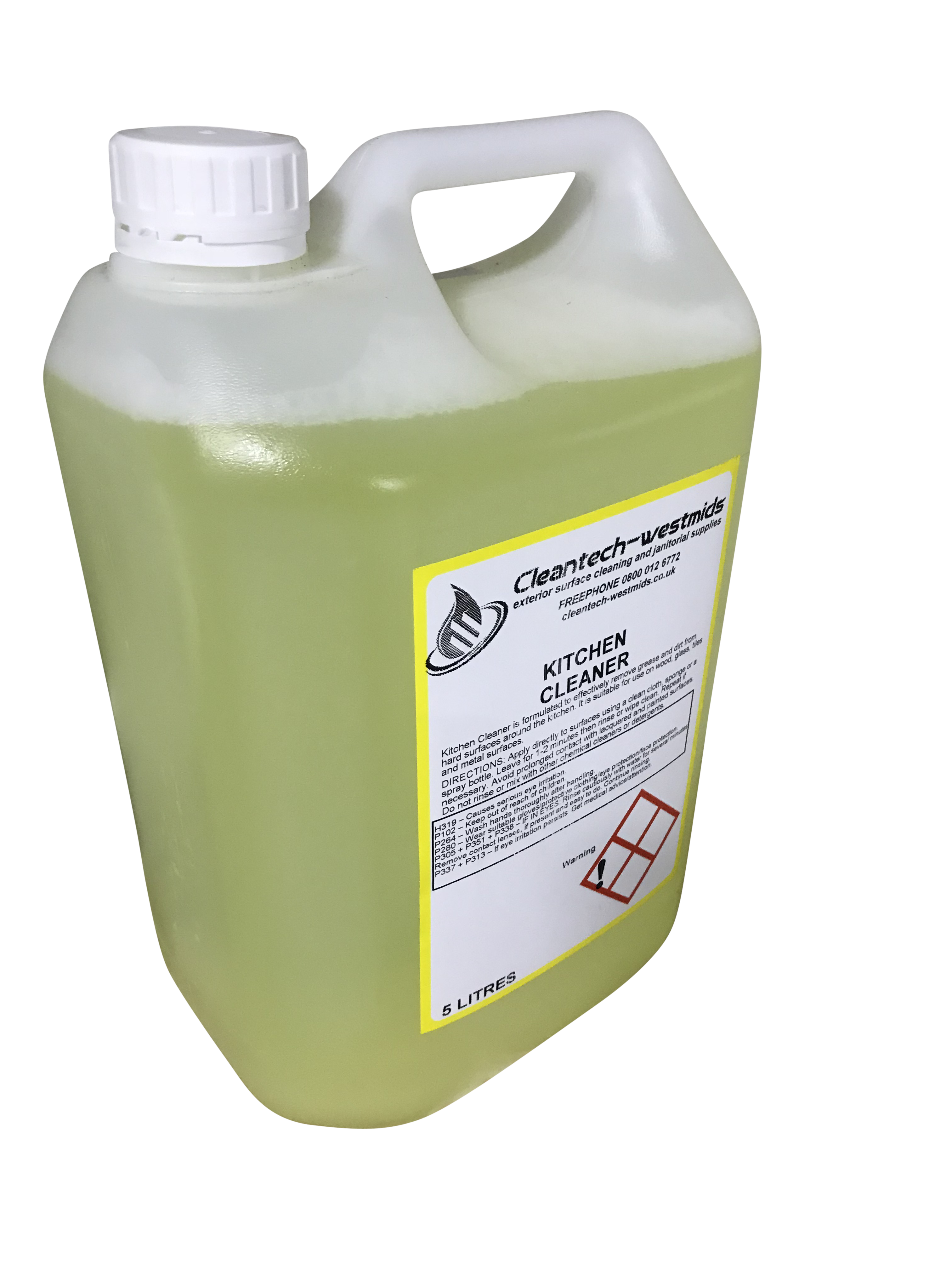 Kitchen Cleaner 5 Litres Cleantech Westmids