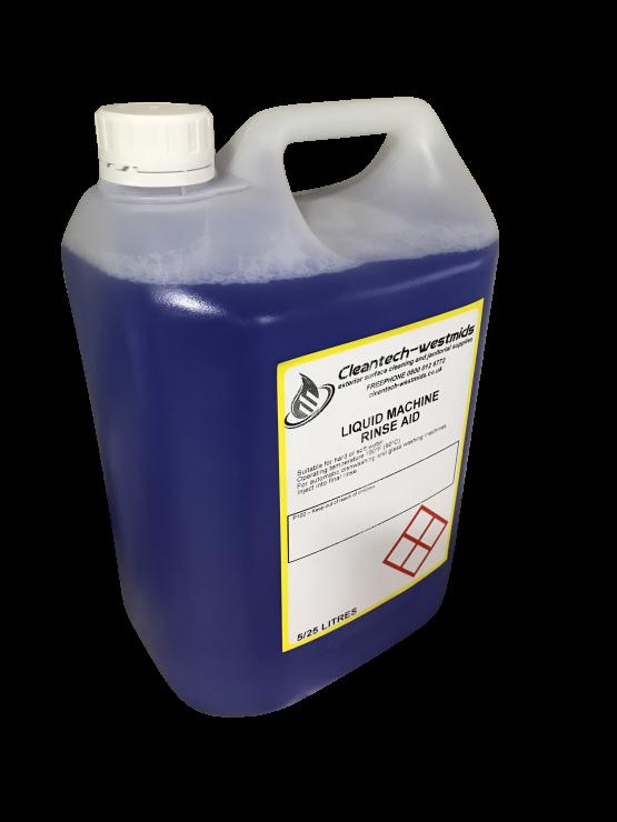 liquid machine rinse aid